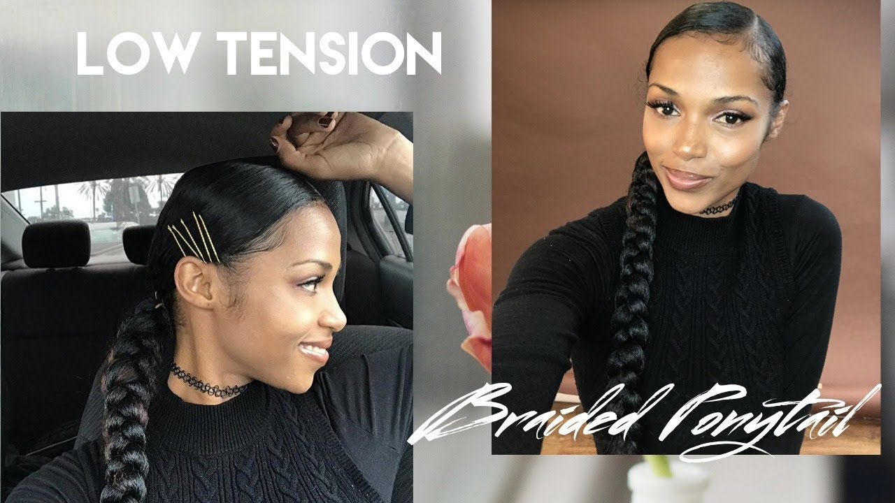 Low Tension Braided Ponytail