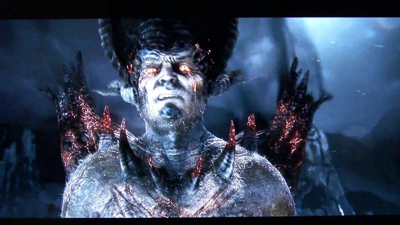 Dantes Inferno - Boss Lucifer (Infernal) + Ending HD