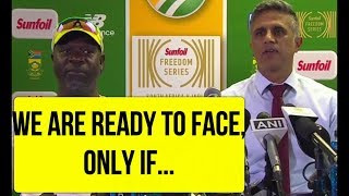 South Africa Team Manager Speaks On Johannesburg Dangerous Pitch Controversy