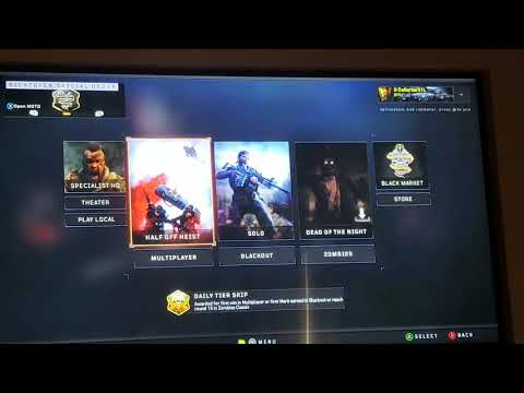 Add A Splitscreen To Black Ops 4 Xbox One