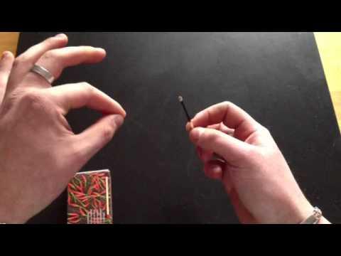 tour de magie 2 allumettes