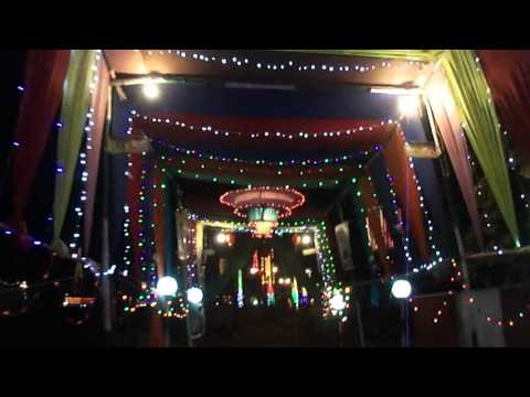 Eid e milad un nabi 2012 decoration night 2 youtube for Decoration 3id milad