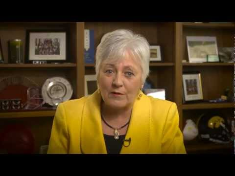 Semester Welcome from President Sally Mason on YouTube