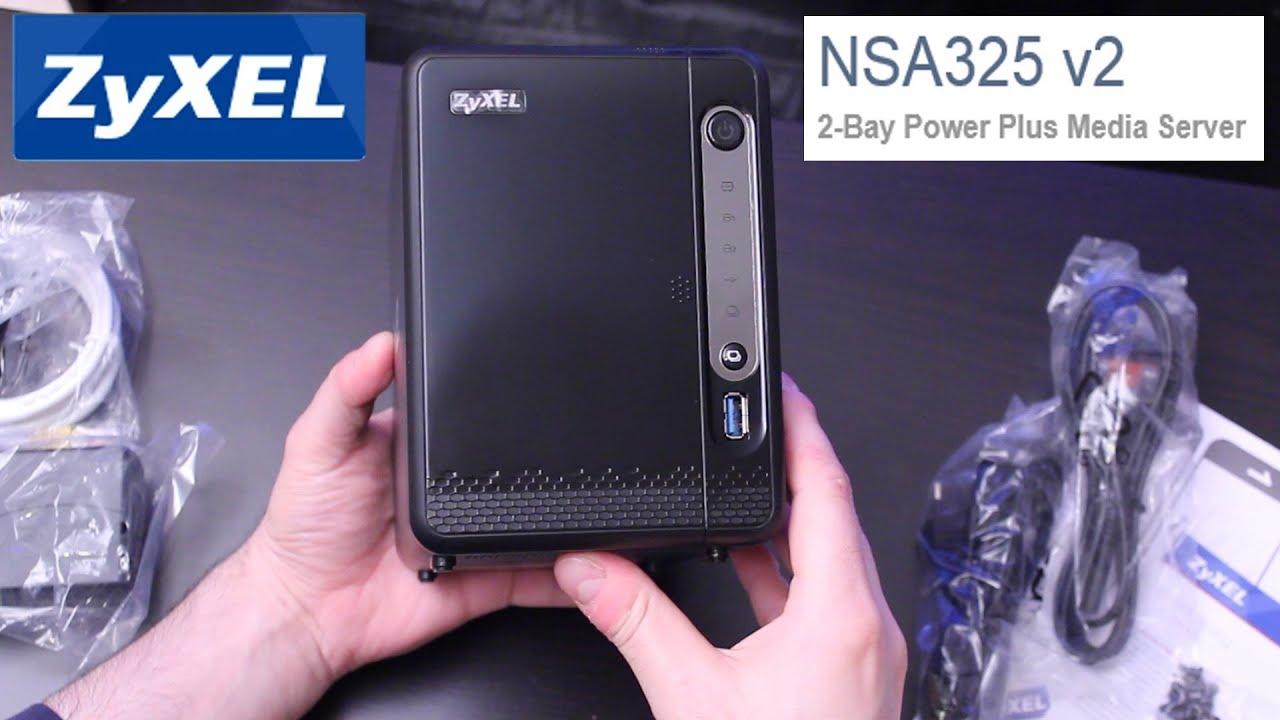 ZyXEL NSA325 v2: Unboxing
