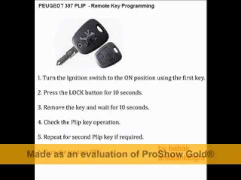 peugeot 307 plip - remote key programming-technofil1(sd).mp4 - youtube