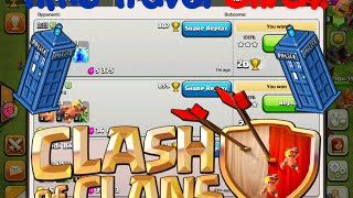 Time Travel Glitch In Clash of Clans! (New, 2015) *Not Patched*