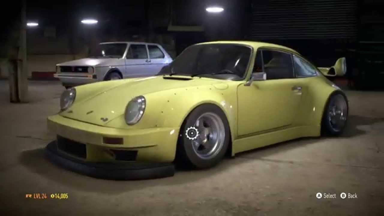 Rc Drift Cars Wallpaper Need For Speed 2015 Rwb Porsche 911 Drift Build Youtube