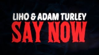 LIHO, Adam Turley - Say Now (Official Lyric Video)