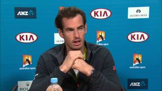 Andy Murray press conference (SF) - Australian Open 2015