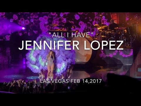 """JENNIFER LOPEZ  """"ALL I HAVE"""" LAS VEGAS CONCERT VLOG 021417"""
