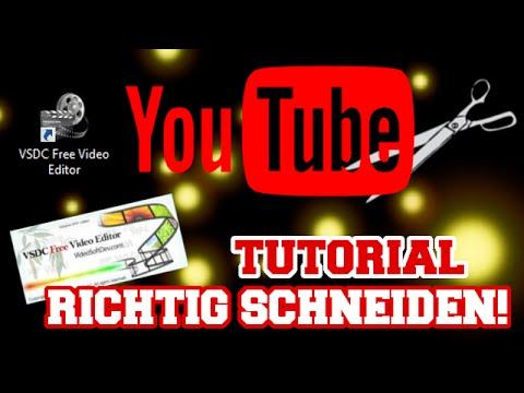 TUTORIAL - VSDC Free Video Editor | RICHTIG SCHNEIDEN!