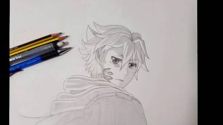 Drawing Shu from Guilty Crown