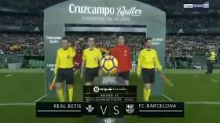 La Liga 2018 Barcelona vs Real Betis 5 1 all goals and short highlight