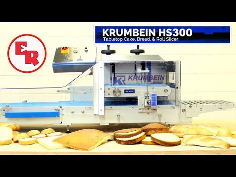 KRUMBEIN HS 300 Horizontal Tabletop Slicer | Cakes, Breads, Pastry | Bakery Equipment