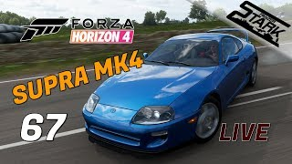 Forza Horizon 4 - 67.Rész (Megérkezett a Supra Mk4) - Stark LIVE
