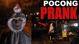 PRANK GHOST( POCONG PRANK) INDONESIA. PARAH Nakut Nakuti Penjual BAkso