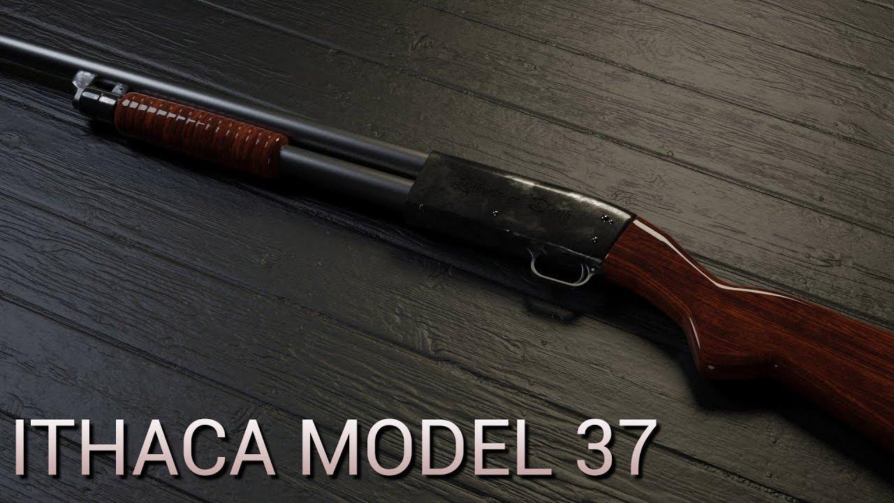 Ithaca model 37 shotgun