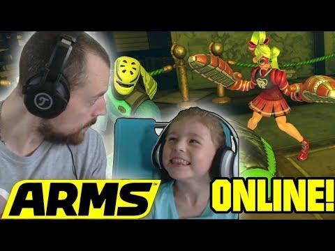 Kimberley macht Online alle fertig! - Let´s Play Nintendo Switch Arms Deutsch | EgoWhity