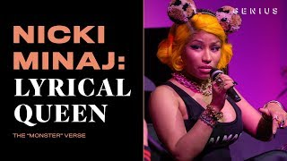 "How Nicki Minaj Wrote Her ""Monster"" Verse 