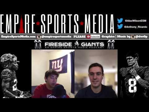 Fireside Giants Ep. 38 (Saquon Barkley Injury Reaction, Week Two Recap)