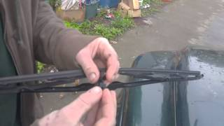 Windshield Wipers - Installing Super-tech Wipers