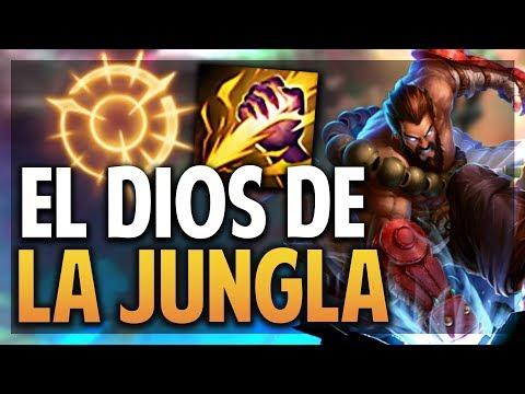 ¡EL DIOS DE LA JUNGLA! HACIENDO INVADES Y COUNTER! | UDYR | League of Legends thumbnail