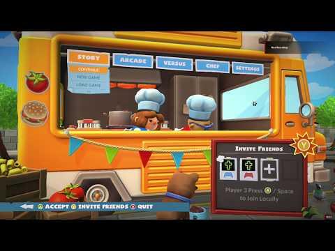 Enjoying Overcooked 2 (Gameplay) - 2 Players