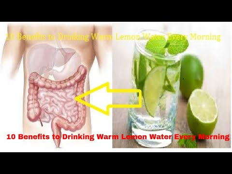 10 Benefits To Drinking Warm Lemon Water || Every Morning