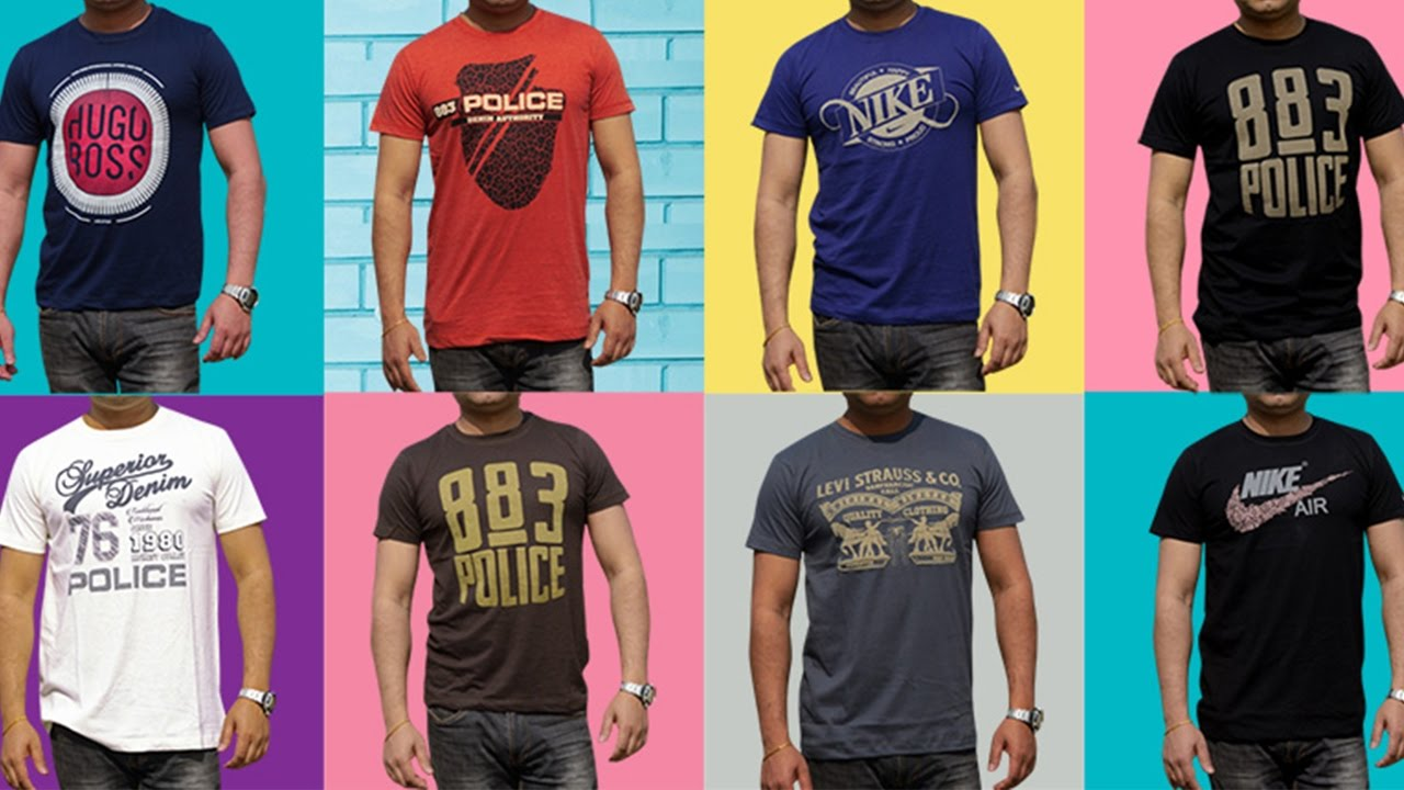 Mens T Shirts New Design 2017 Exclusively Only On Shadmans