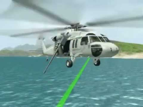 Rapid Airborne Mine Clearance System (RAMICS) Video