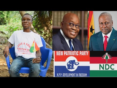 Blind Man Brings out Last minute Dream about Ghana 2020 Elections and Prophecy about Nana Addo De@th