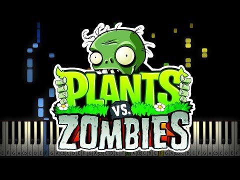 FULL Plants vs. Zombies Soundtracks Piano Tutorial (Sheet Music + midi)