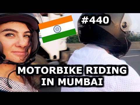BIKE RIDING IN BANDRA - MUMBAI DAY 440 | INDIA | TRAVEL VLOG IV