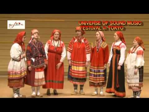 Moscow Conservatory Folklore Ensemble in Japan
