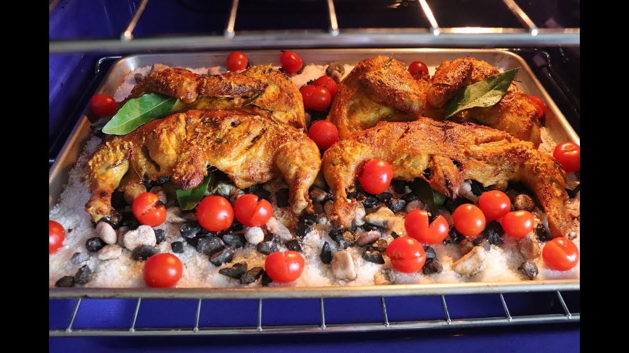 الذ واشهى وارقى دجاج مشوي على الحجر والملح مذاق المطاعم الفخمة بطريقة جد احترافية Youtube Chicken Food Meat