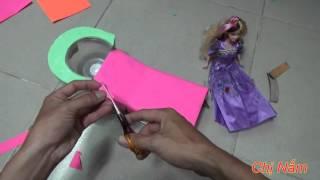 Hướng Dẫn Làm Ghế Gội Đầu Cho Búp Bê Barbie   Making Chairs Shampoo For Barbie Dolls Toys