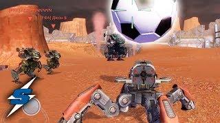 QUE HAY DENTRO DE LA PELOTA DE WR ? | SORILOKO War Robots Football