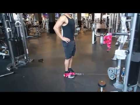 Reverse Lunges with XTREME Glute Strap