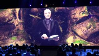 Видеоинсталляция на презентации нового сезона телеканала ТВ3