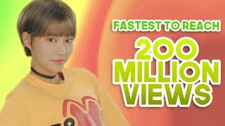 FASTEST KPOP GROUPS MUSIC VIDEOS TO REACH 200 MILLION VIEWS