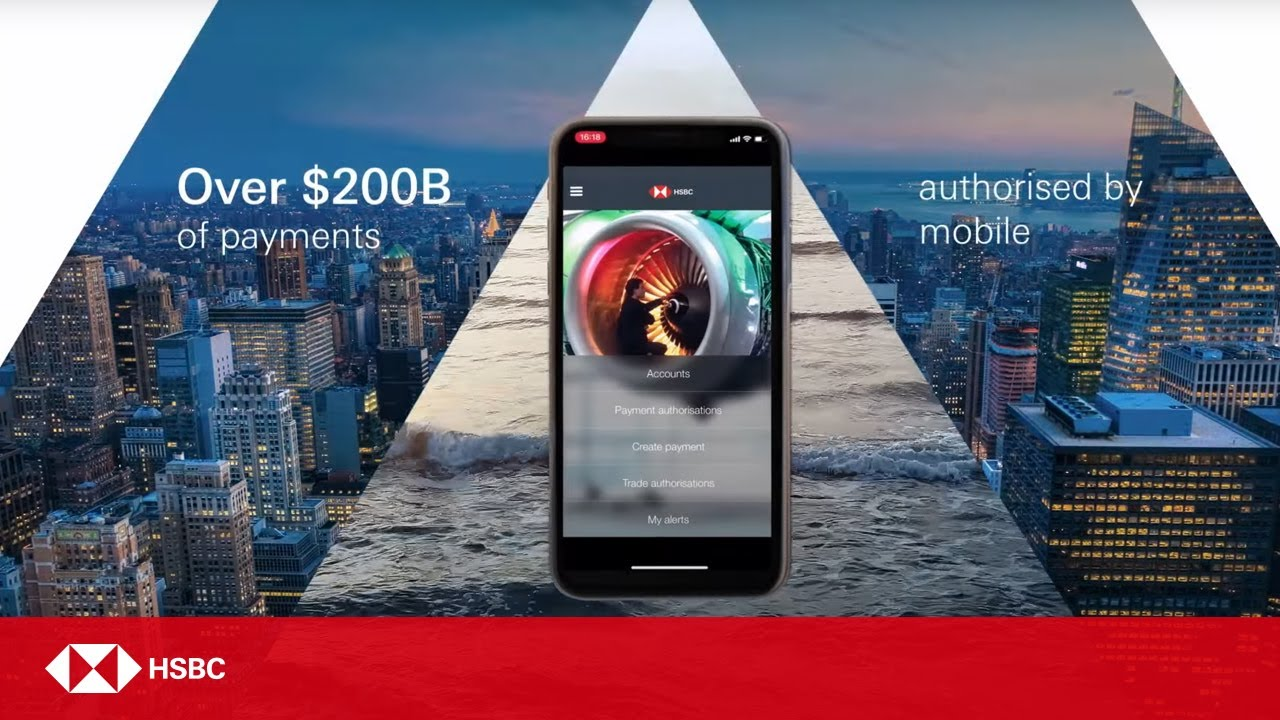 HSBC Technology | HSBCnet Mobile App now with Face ID