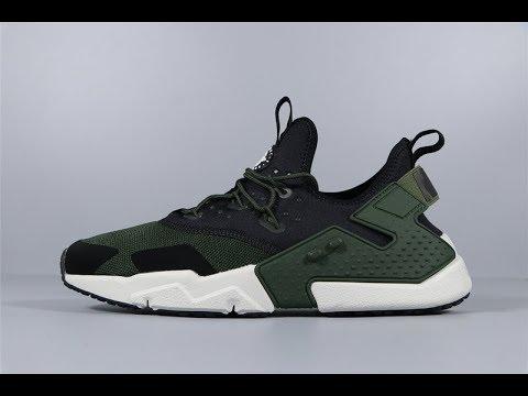 Nike Air Huarache Run Drift AH7334-300 Men's Running Shoes FROM Robert