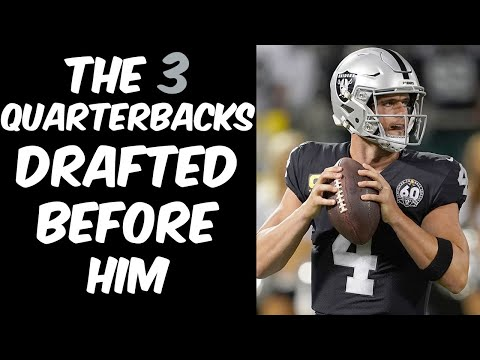 Who Were The 3 Quarterbacks Drafted Before Derek Carr? Where Are They Now?