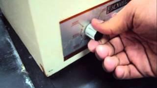 método de separación: centrifugación