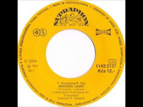 Michaela Linková & Stanislav Procházka ml. - Abeceda lásky 1983 Vinyl Records 45rpm
