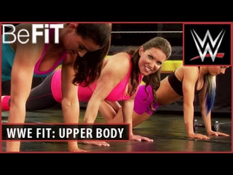 WWE Fit Series: Chiseled Upper Body Workout- Stephanie McMahon thumbnail