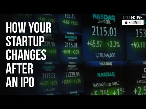How Your Startup Changes After an IPO