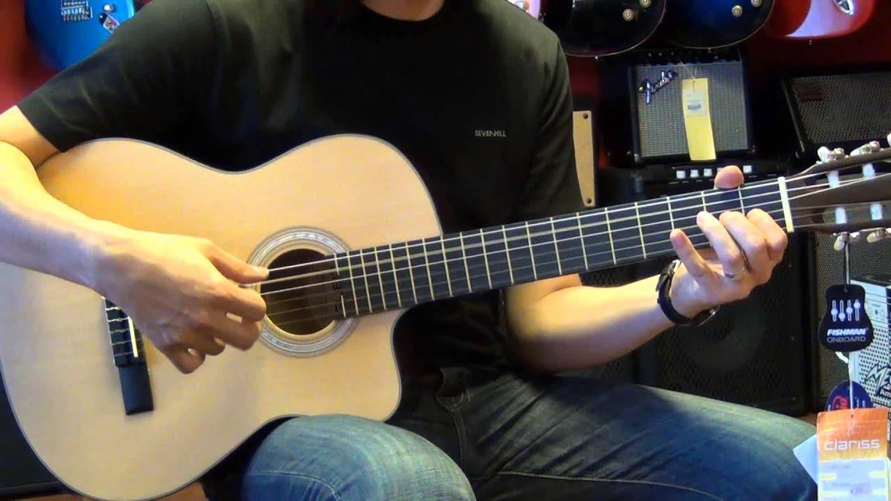 clariss ccg 400ce elektro klasik gitar