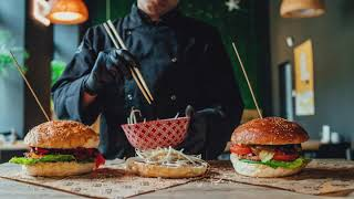 Burgers Stop Motion Cooking | Aleksander Soroka |  Food video Ad