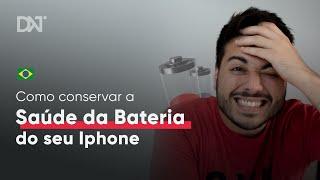 Saúde da Bateria do iPhone Caindo Rápido??
